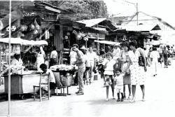 Así lucían hace medio siglo las ventas ambulantes en el parque Centenario de Bucaramanga