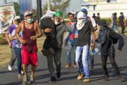 Estas son las imágenes de la protesta contra el Gobierno de Nicaragua que ya completa cuatro días