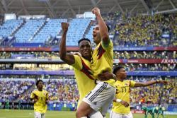 Las mejores imágenes del triunfo de Colombia ante Senegal