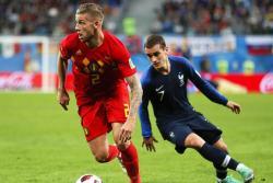 Las mejores imágenes del triunfo de Francia ante Bélgica