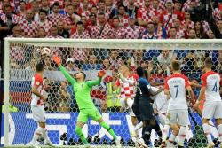 Estas son las mejores imágenes que dejó la final del Mundial de Rusia 2018