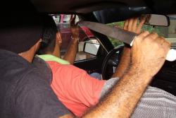Escuche el llamado de auxilio de un taxista atracado en Bucaramanga