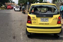Con este audio denuncian amenazas a taxistas que no participan en paro en Bucaramanga
