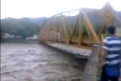 Alerta en población de Santander por creciente de río Chicamocha