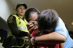 Así fue el reencuentro de menor secuestrada con su madre