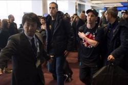 Hincha de River escupió a Messi en aeropuerto de Tokio