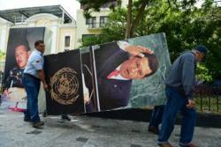 La imagen de Chávez desaparece de los pasillos del parlamento venezolano