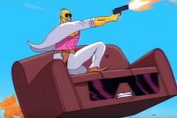 El espectacular homenaje que hicieron Los Simpsons a los años 80