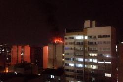Incendio en apartamento de Bucaramanga generó pánico