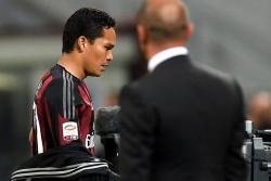 Así reaccionó Bacca tras ser sustituido en el Milán