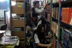 Alumnos piden apoyo para renovar biblioteca de colegio en Bucaramanga