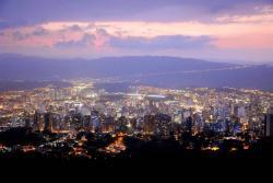 Santander vista desde el cielo el Día de la Santandereanidad
