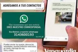 Vanguardia.com lanza su WhatsApp para estar más cerca de sus lectores