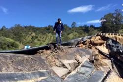 Investigarán por qué colapsó represa en Santander