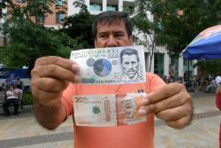 Comenzó a circular en Bucaramanga el nuevo billete de $20 mil