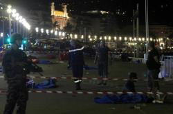 Video captó el momento en que muere el autor del atentado en Niza