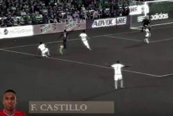 Colombiano hizo un lujo de asistencia de rabona en la MLS