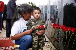 Cúpula militar realizó homenaje a los héroes caídos