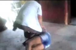 Video registró brutal caso de maltrato contra una mujer en Santander