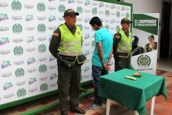 Capturan en Bucaramanga a un hombre que llevaba droga en un bus intermunicipal