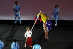 Con sabor santandereano, Colombia desfiló en Juegos Paralímpicos