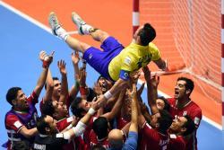 Así despidieron a Falcao, el mejor jugador de fútsal en Bucaramanga
