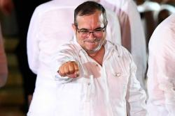 El susto de 'Timochenko' y otras anécdotas de la firma de la paz en Cartagena