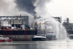 Tragedia por explosión de una planta química en Alemania