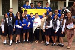 Estudiantes de Bucaramanga ganan feria de ciencia y busca apoyo para viajar a África y México