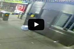 Estación de Metrolínea en Bucaramanga fue atacada por vándalos