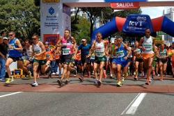 ¿Cómo se vio y se corrió el ¼ de Maratón en Bucaramanga?