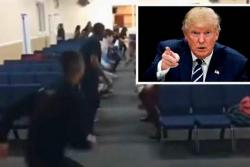 """""""Ahí viene Trump"""", el nuevo reto viral en redes sociales"""
