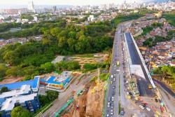 Este viernes darían paso por el nuevo viaducto de ingreso a Bucaramanga