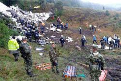 En avión accidentado viajaban 77 personas y no 81 como inicialmente se informó