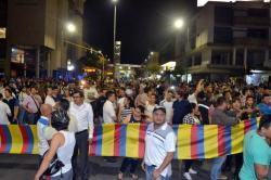 Comerciantes marcharon en contra del Pico y Placa en Bucaramanga