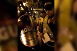 Investigarían a policías que iban a multar por tomar cerveza sin alcohol en Medellín
