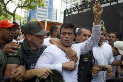 Leopoldo López llamó a los venezolanos a marchar contra Maduro