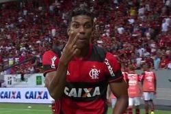 Orlando Berrío marcó su primer gol con el Flamengo
