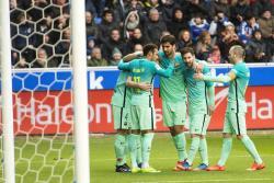 Vea la goleada del Barcelona al Alavés