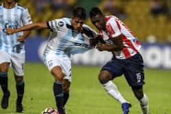 Vea el gol con el que Junior venció 1-0 a Tucumán en Copa Libertadores