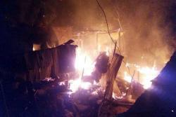 Video registró incendio que consumió tres casas en Bucaramanga