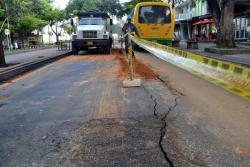 Cómo sacarle el quite al trancón por arreglo en la carrera 33 de Bucaramanga