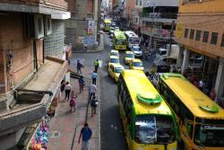 Así se ve el Centro de Bucaramanga tras la suspensión del Pico y Placa zonal