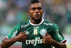 No se pierda el primer gol de Miguel Borja con el Palmeiras