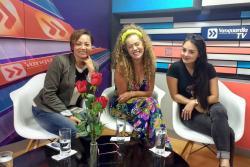 Así fue la entrevista con Yolanda Rayo, Aída Morales y Yuri Vargas