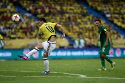 Vea el gol de James con el que Colombia venció a Bolivia