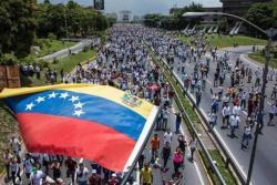 """Así se vivió """"la madre de todas las marchas"""" contra Nicolás Maduro"""