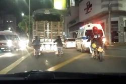 Denuncian peligrosa imprudencia de ciclistas en Bucaramanga