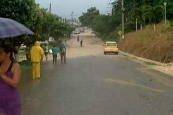 Intensas lluvias generaron emergencia en San Vicente de Chucurí