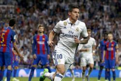 James Rodríguez explicó que el gol ante el Barcelona se lo dedicó a su hija